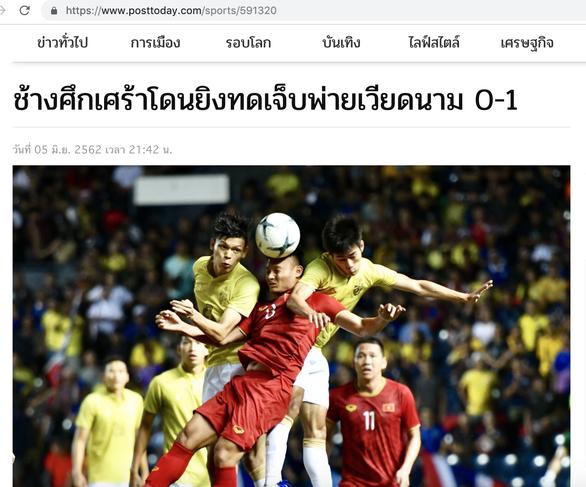 Báo Thái Lan: Buồn thay, Thái Lan để thua Việt Nam 0-1 - Ảnh 1.