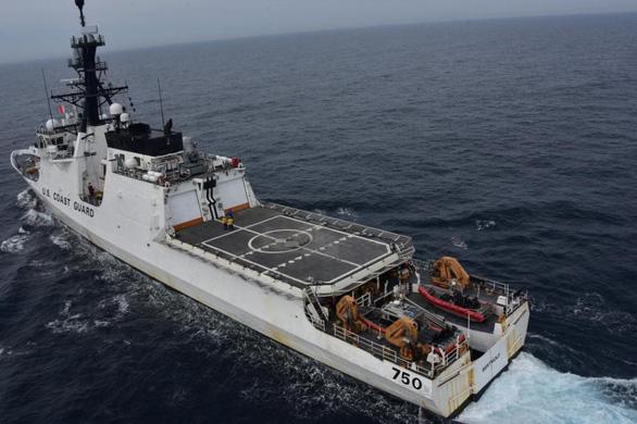 Mỹ điều thêm tàu tuần duyên tới vùng biển gần Triều Tiên - Ảnh 1.