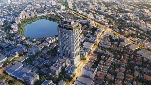Căn hộ cao cấp khu vực trung tâm Hà Nội tăng giá mạnh - Ảnh 1.