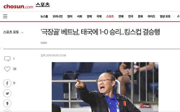 Báo Hàn: ông Park lại giúp Việt Nam củng cố vị thế số 1 - Ảnh 1.