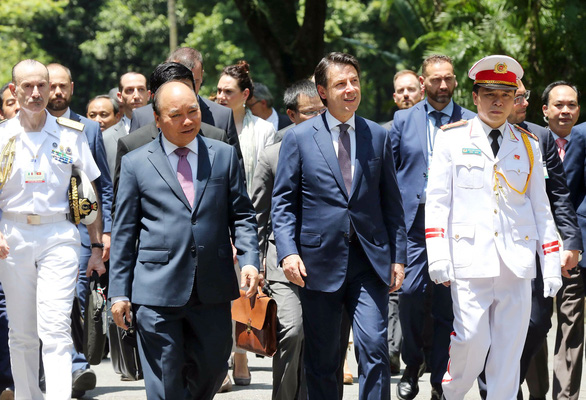Thủ tướng Conte: Việt Nam là ưu tiên của Ý - Ảnh 1.