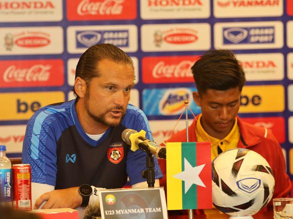 HLV tuyển U23 Myanmar: Việt Nam là ứng viên cho chức vô địch SEA Games 30 - Ảnh 1.