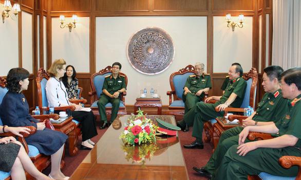 93 cán bộ, sĩ quan tham gia lực lượng gìn giữ hòa bình Liên Hiệp Quốc - Ảnh 1.