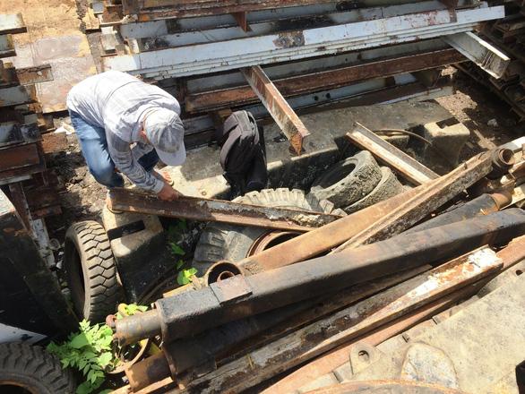 Bảo tàng TP.HCM sẽ lưu trữ đường ray 100 tuổi của cầu sắt Phú Long - Ảnh 1.