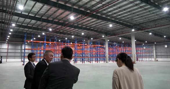 Trung tâm hậu cần, logistics 5,4 triệu USD phục vụ các DN Nhật Bản - Ảnh 1.