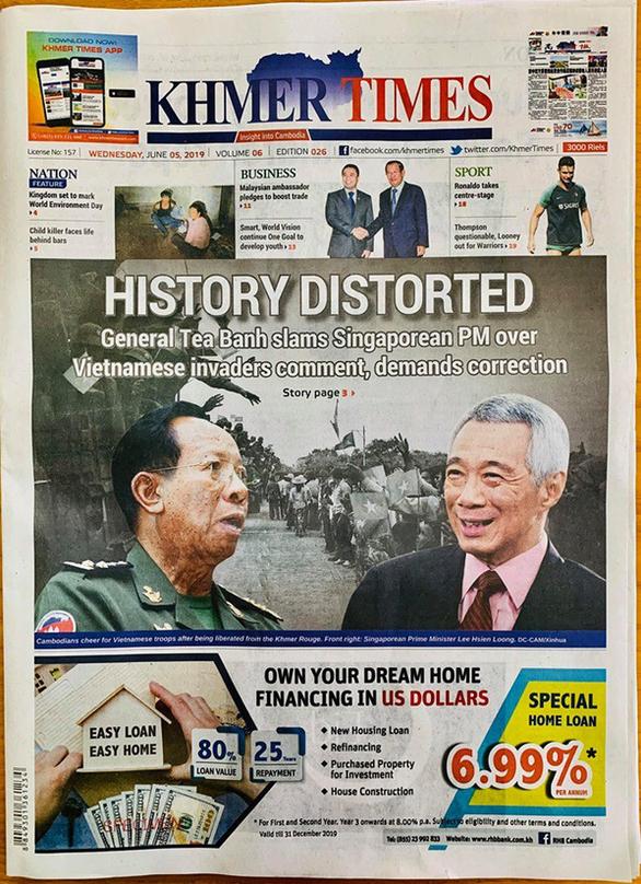 Thủ tướng Hun Sen: Ông Lý Hiển Long có xem ph.iên t.òa xử Khmer Đỏ là hợp pháp? - Ảnh 3.
