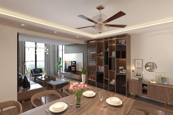 Không gian bình yên trong căn hộ duplex giữa lòng Hà Nội - Ảnh 3.