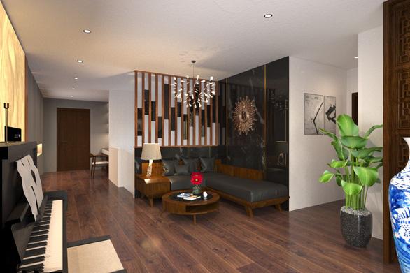 Không gian bình yên trong căn hộ duplex giữa lòng Hà Nội - Ảnh 5.