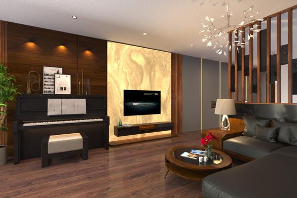 Không gian bình yên trong căn hộ duplex giữa lòng Hà Nội - Ảnh 6.