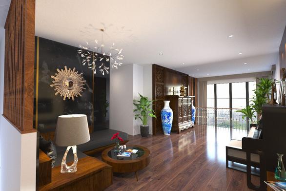 Không gian bình yên trong căn hộ duplex giữa lòng Hà Nội - Ảnh 9.