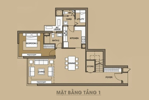 Không gian bình yên trong căn hộ duplex giữa lòng Hà Nội - Ảnh 11.