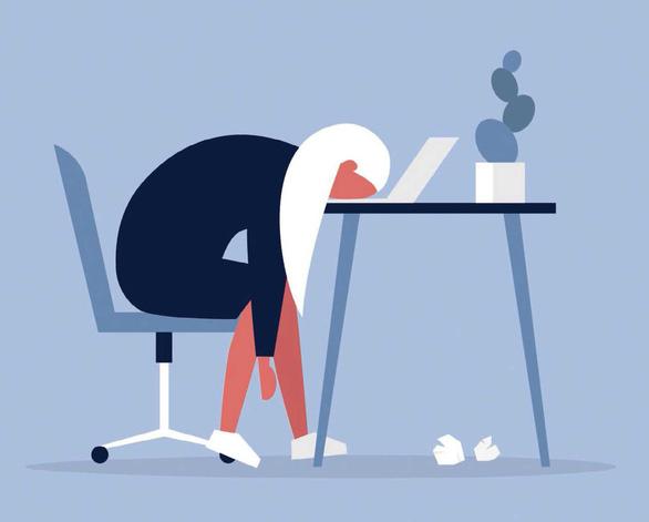 Hội chứng Burnout: sức tàn lực kiệt ở chỗ làm - Ảnh 1.