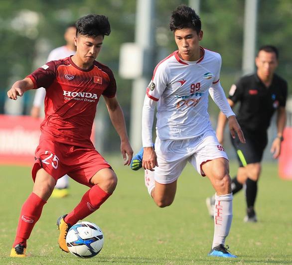 Giao hữu U23 Việt Nam - U23 Myanmar: Tìm những gương mặt triển vọng - Ảnh 1.