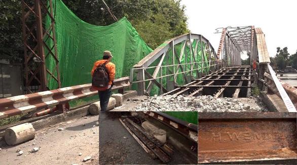 Bảo tàng TP.HCM sẽ lưu trữ đường ray 100 tuổi của cầu sắt Phú Long - Ảnh 2.