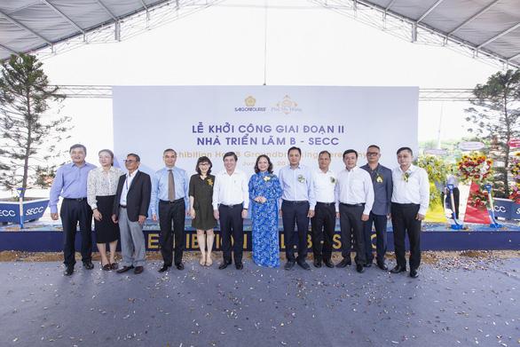 Saigontourist khởi công giai đoạn II Nhà triển lãm B - Ảnh 1.
