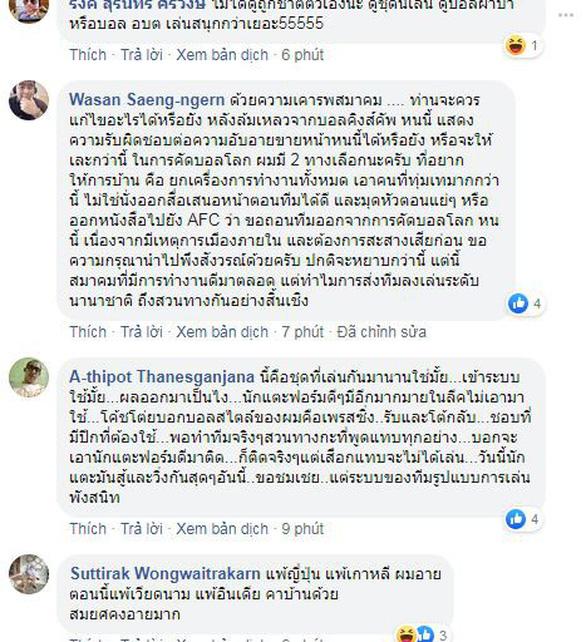 Chúng tôi cảm thấy quá xấu hổ cho bóng đá Thái Lan - Ảnh 2.