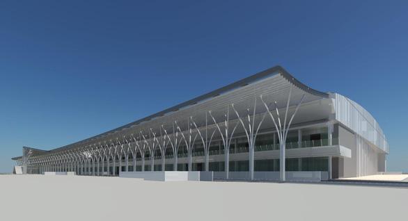 Saigontourist khởi công giai đoạn II Nhà triển lãm B - Ảnh 3.