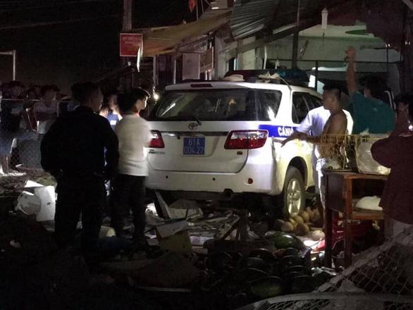 Xe CSGT Bình Dương gây tai nạn, 1 người tử vong - Ảnh 1.