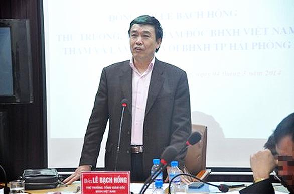 Cựu thứ trưởng Lê Bạch Hồng bị truy tố vì cố ý làm trái - Ảnh 1.