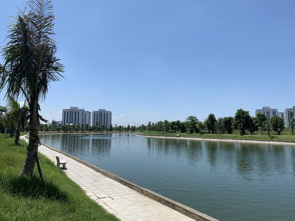 Công viên cây xanh, hồ điều hòa chiếm 70% diện tích dự án Thanh Hà - Ảnh 3.
