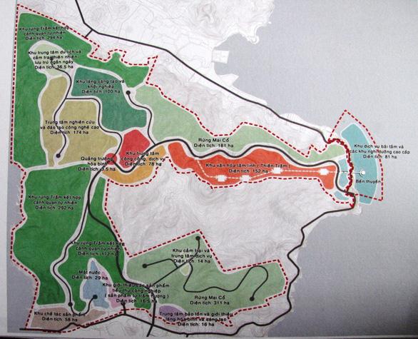 Tạm dừng dự án tầm cỡ thế giới ôm trọn dãy núi Cù Hin - Ảnh 1.