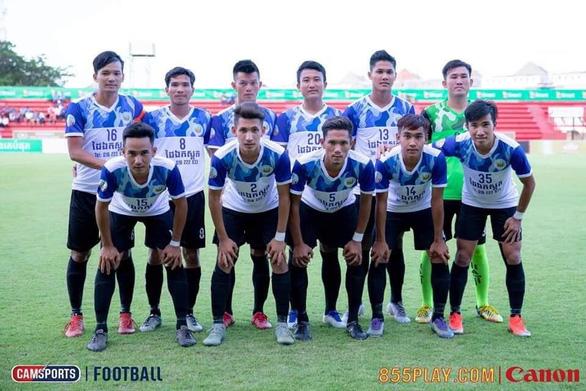 Đội bóng Campuchia để lọt 131 bàn sau 13 trận ở Giải vô địch quốc gia - Ảnh 1.