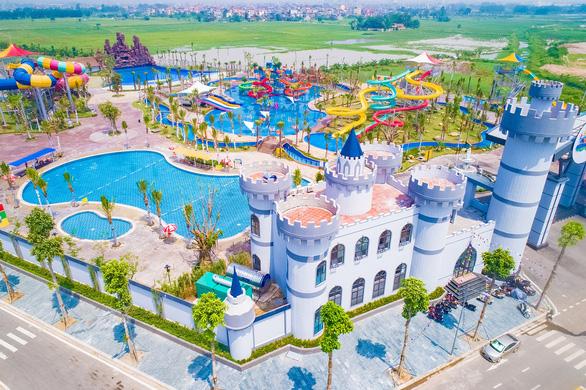 Công viên cây xanh, hồ điều hòa chiếm 70% diện tích dự án Thanh Hà - Ảnh 4.