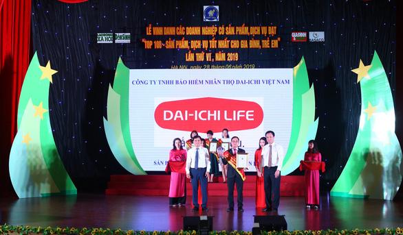 """Dai-ichi Việt Nam vào top """"Sản phẩm dịch vụ tốt nhất 2019"""" - Ảnh 1."""