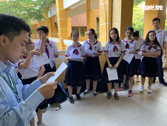 Các bước khi chấm bài thi trắc nghiệm trong kỳ thi quốc gia.