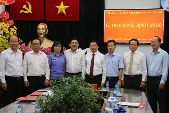 Viện trưởng VKSND TP.HCM làm phó trưởng ban nội chính Thành ủy - Ảnh 2.