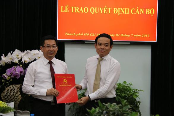 Viện trưởng VKSND TP.HCM làm phó trưởng ban nội chính Thành ủy - Ảnh 1.