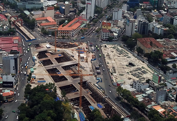 Làm dự án mới kết nối hai tuyến metro ở TP.HCM - Ảnh 1.
