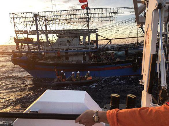 Hải Phòng kêu gọi tàu cá tìm cứu ngư dân Nghệ An gặp nạn - Ảnh 1.