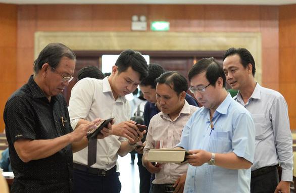 Hôm nay, HĐND TP.HCM sẽ bước vào kỳ họp không giấy - Ảnh 3.