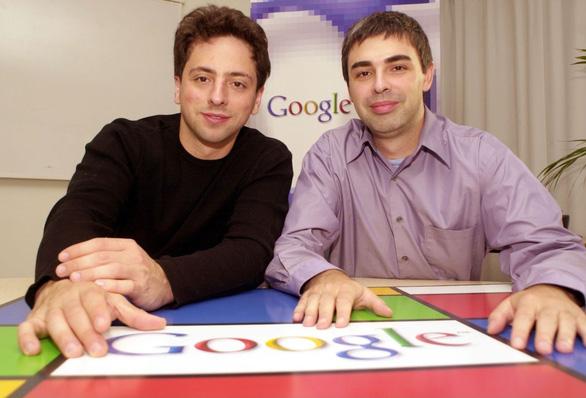 Larry Page và Sergey Brin Google: bộ óc siêu việt và những đêm trắng - Ảnh 1.