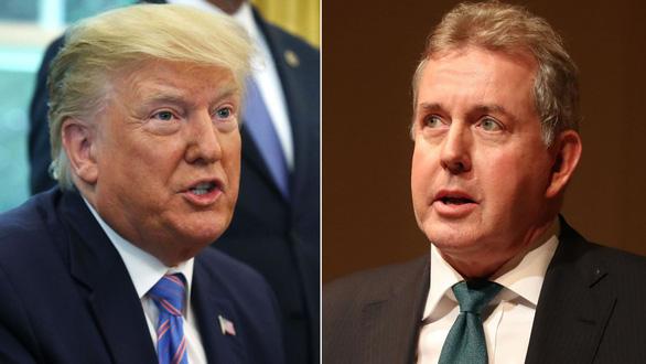 Đại sứ Anh tại Mỹ từ chức sau vụ bản ghi nhớ mật bị rò rỉ - Ảnh 1.