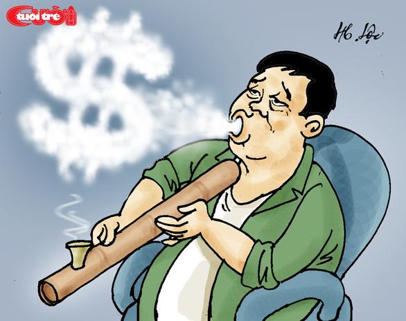 Biếm họa về đại gia điếu cày - Ảnh 3.
