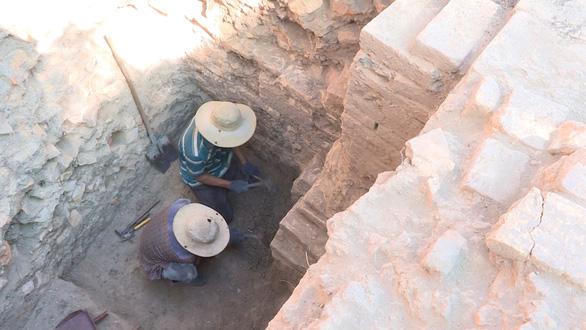 Phát hiện di tích Chăm có niên đại khoảng thế kỷ thứ 4 hoặc 5 - Ảnh 4.