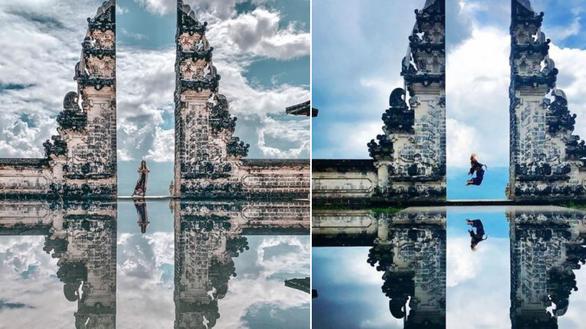 Du khách bật ngửa vì ảnh Cổng trời ở Indonesia bị làm giả - Ảnh 1.
