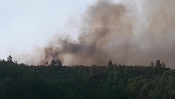 150 ha rừng keo cháy ngùn ngụt, quân dân Quảng Nam trắng đêm dập lửa - Ảnh 3.