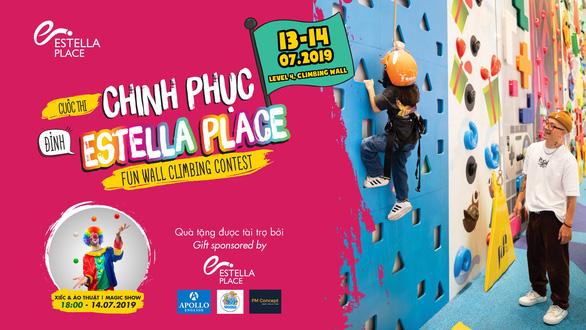 Chinh phục đỉnh Estella Place dành cho trẻ 5-12 tuổi - Ảnh 1.