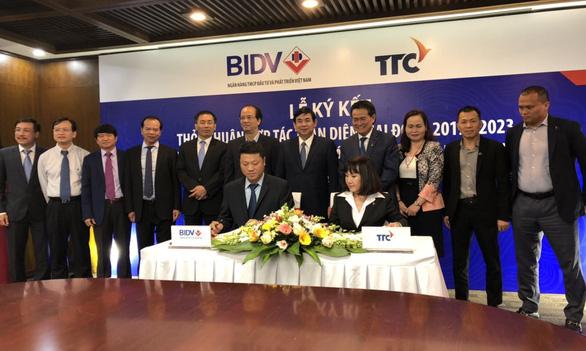 TTC và BIDV ký kết hợp tác toàn diện giai đoạn 2019-2023 - Ảnh 1.