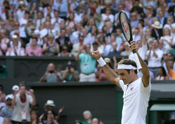 Đánh bại Nishikori, Federer gặp Nadal tại bán kết Wimbledon 2019 - Ảnh 2.
