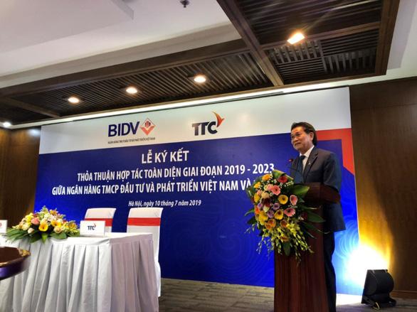 TTC và BIDV ký kết hợp tác toàn diện giai đoạn 2019-2023 - Ảnh 2.