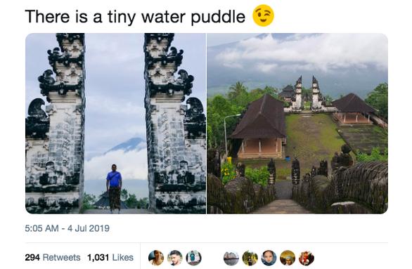 Du khách bật ngửa vì ảnh Cổng trời ở Indonesia bị làm giả - Ảnh 4.