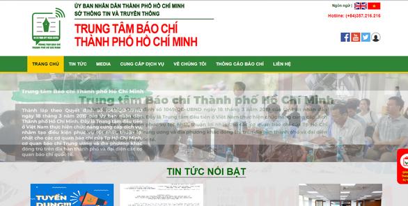 Nhiều cơ hội việc làm ở Trung tâm Báo chí TP.HCM - Ảnh 1.