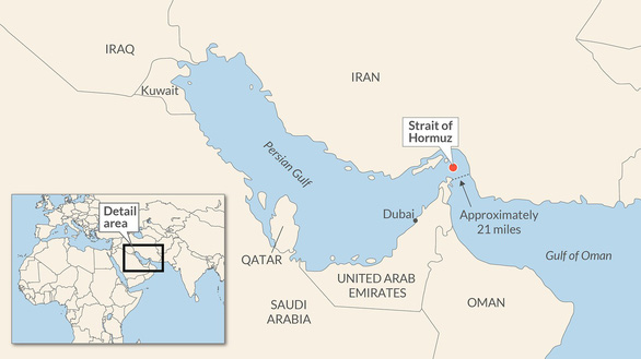 Mỹ yêu cầu Nhật, Hàn đưa quân tới eo biển Hormuz - Ảnh 2.