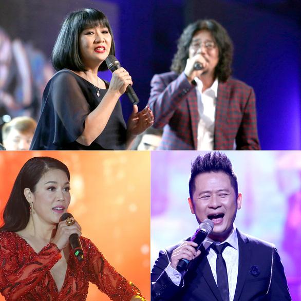 Ca sĩ bốn thế hệ hội ngộ trong Âm nhạc Việt Nam - Ảnh 1.