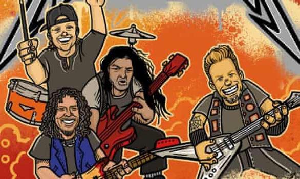 Ban nhạc rock huyền thoại Metallica tham gia làm sách thiếu nhi - Ảnh 1.