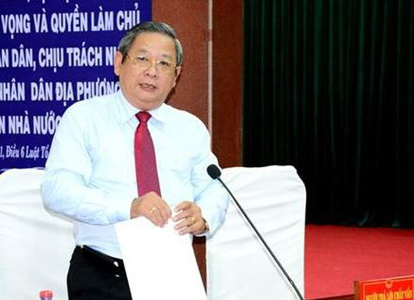 Khởi tố nguyên giám đốc Sở Y tế tỉnh Cà Mau - Ảnh 1.